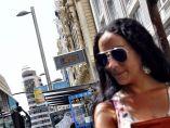 Tórrido mediodía en Madrid