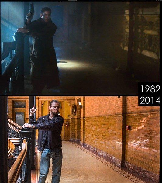 Fotografiándose en los escenarios de varias películas famosas 317916-533-602