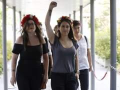 Absueltas cinco activistas de Femen en su primer juicio en España