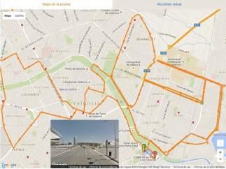 Nuevo recorrido del maratón Trinidad Alfonso