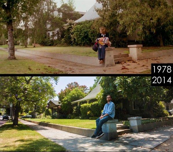 Fotografiándose en los escenarios de varias películas famosas 318466-598-524