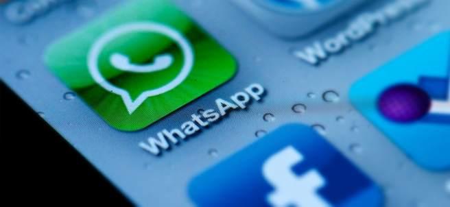 Aplicación servicio de mensajería instantánea WhatsApp, de Facebook