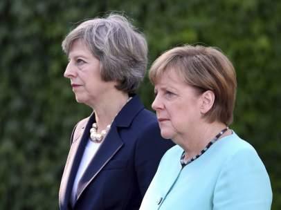 Merkel y May
