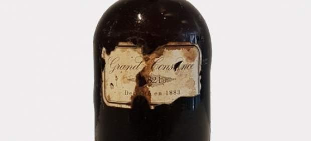 Venden una botella del vino favorito de Napoleón por 1.550 euros
