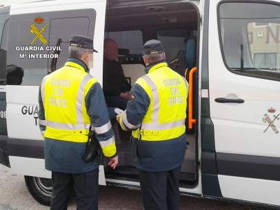 Control de alcoholemia, Guardia Civil, detenido