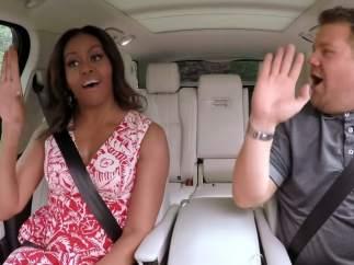 Michelle Obama en Carpool Karaoke