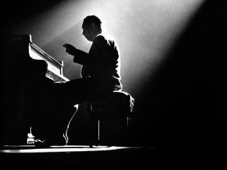 Duke Ellington by Herman Leonard, 1958