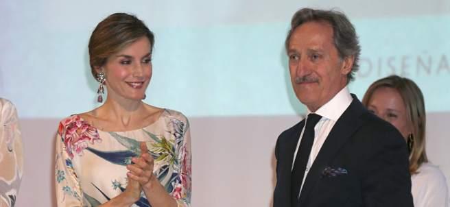 La reina Letizia y Roberto Torreta