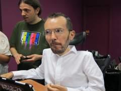 El secretario general del Podemos Aragón, Pablo Echenique