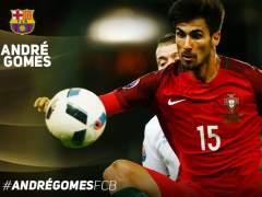 El Barcelona cierra el fichaje de Andre Gomes para las próximas cinco temporadas