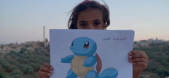 pokemon go, siria, conflicto, niños