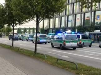 Tiroteo en Múnich