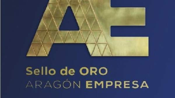Sello de oro Aragón Empresa.