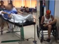 Pacientes esperando su turno en una sala de urgencias en Málaga