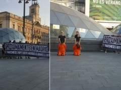 Neonazis escenificaron una ejecución yihadista en Madrid