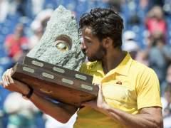 Feliciano gana en Gstaad el primer título en tierra de su carrera