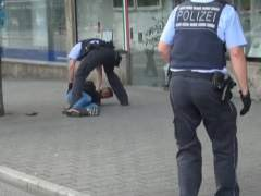 Detenido un refugiado en Alemania tras matar a una mujer con un machete