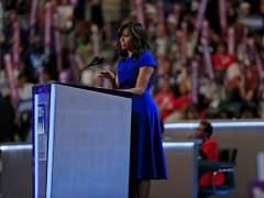 """Michelle Obama: """"No permitan que nadie les diga que este país no es grande"""""""