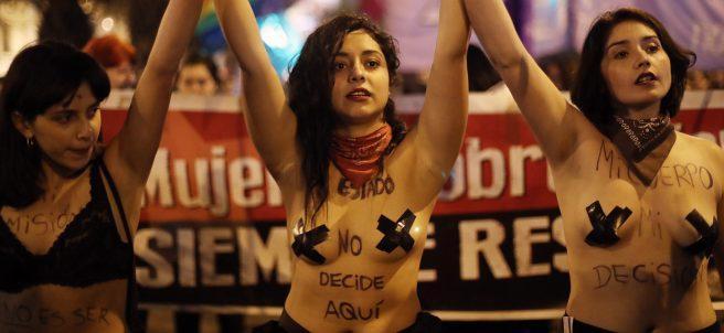 Por un aborto libre en Chile