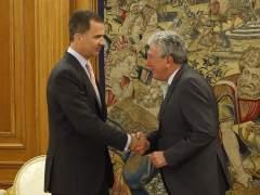 Quevedo traslada al rey que NC votará no a Rajoy