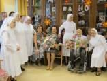 Homenaje a los abuelos más mayores de Logroño
