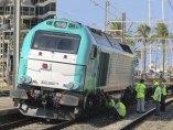 Mercancías descarrilado en Tarragona