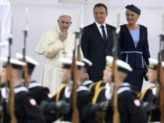 El papa Francisco llega a la Jornada Mundial de la Juventud