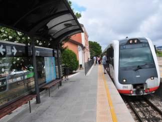 El tren Calpe-Denia de la l9, suspendido por obras
