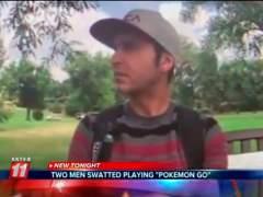 Envían a los SWAT mientras jugaba a Pokémon GO en directo