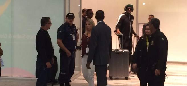 Usain Bolt llega a Río