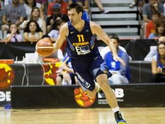 Fernando San Emeterio con España