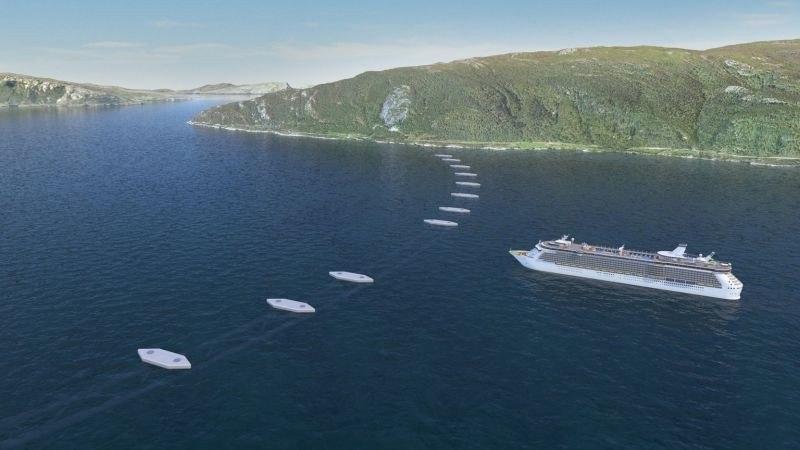 Túneles flotantes en los fiordos noruegos