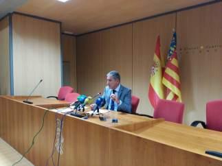 Decano de los jueces de Valencia, Pedro Viguer