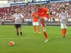 Nowitzki imita y se mofa del famoso penalti de Zaza