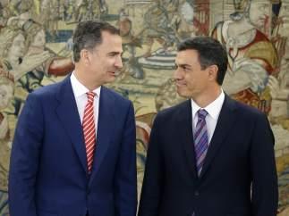 Felipe VI y Pedro Sánchez