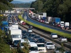Retenciones en las carreteras en el inicio del fin de semana