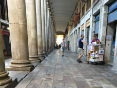 L'Ajuntament de Barcelona retira les terrasses de la Boqueria