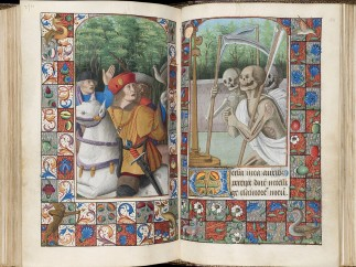 Book of Hours c. 1490 – 1510 Use of Rome - The Three Living and the Three Dead , Western France