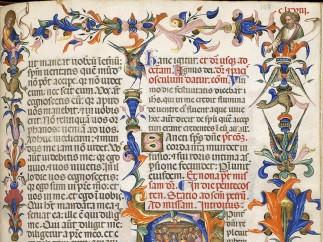 Missal of Cardinal Angelo Accialiuoli c. 1404 , Florence, Italy
