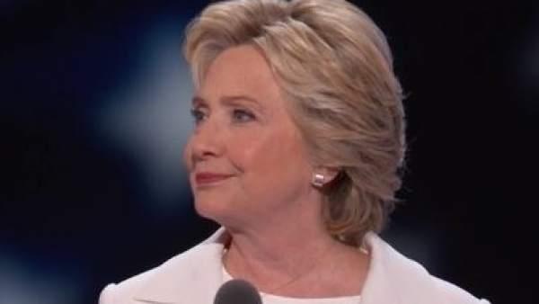 Hillary Clinton acepta la nominación demócrata a la Casa Blanca
