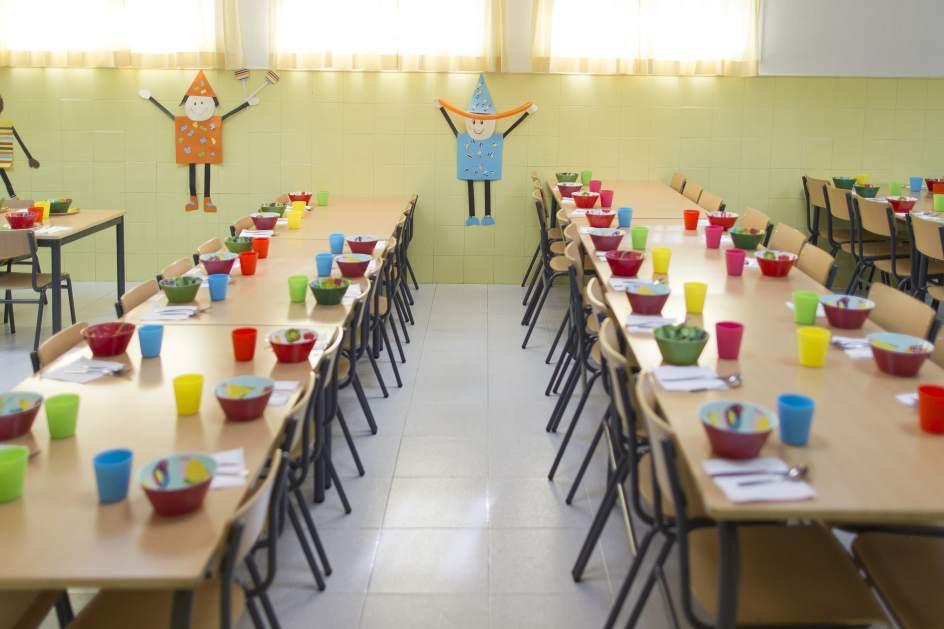 aumenta en más de 10 millones las becas de comedor escolar para el
