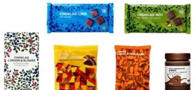 Chocolates de Ikea