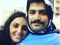 Los hombres iraníes se ponen el velo por la libertad religiosa de las mujeres