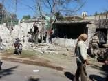 Bombardeo a un hospital en Siria