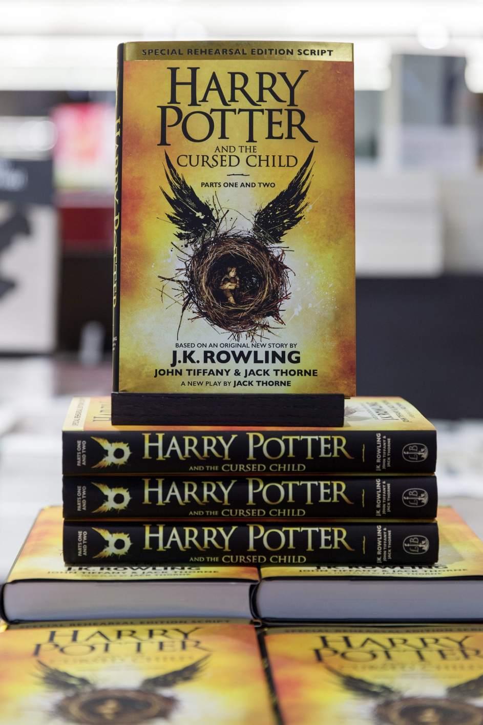 El nuevo libro de Harry Potter saldrá a la venta en España