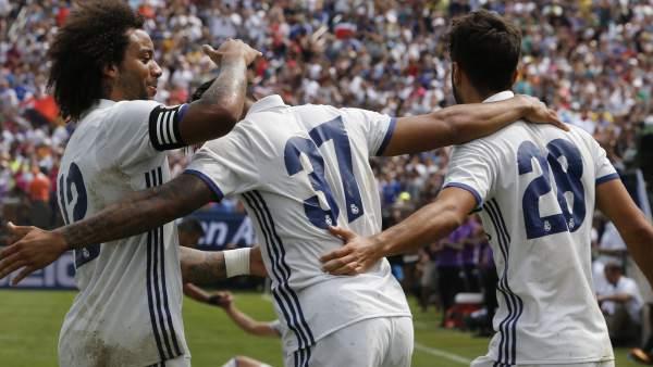 Marcelo, Mariano y Marco Asensio