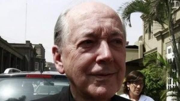 El cardenal Cipriani, en una imagen reciente