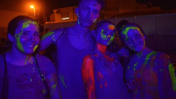 La Holi Day Party se estrena a lo grande en San Pedro del Pinatar