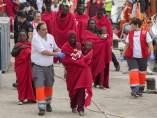 Rescate de inmigrantes en Cartagena
