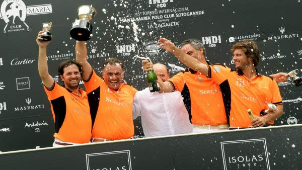 Ganadores de la Copa de Bronce ISOLAS de bajo hándicap